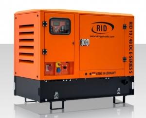Дизель-генератор RID 10/48 DC E-series S в кожухе постоянное 10кВА/8кВт