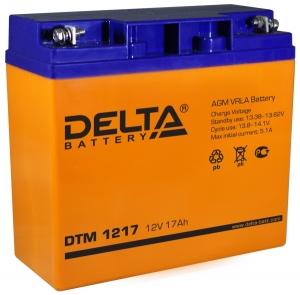 Аккумуляторная батарея Delta DTM 1217