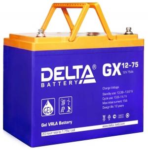 Аккумуляторная батарея Delta GX 12-75