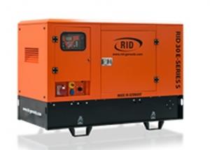 Дизель-генератор RID 30 E-series S в кожухе 3ф 30кВА/24кВт