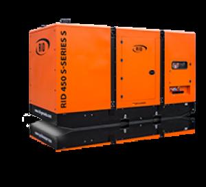Дизель-генератор RID 450 S в кожухе 3ф 450кВА/360кВт