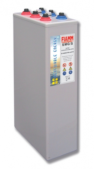 Аккумуляторная батарея 2В 400 Ач FIAMM SMG Solar OPzV