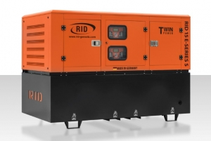 Дизель-генератор RID 15 E-series S Twin Power в кожухе 3ф 15кВА/12кВт