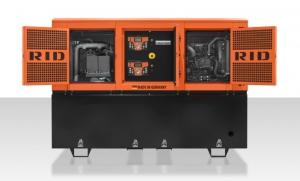 Дизель-генератор RID 15 E-series Twin Power открытый 3ф 15кВА/12кВт