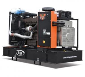 Дизель-генератор RID 200 S открытый 3ф 200кВА/160кВт