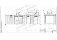 Блок-контейнер с ДГУ BIR-ЭМД-10