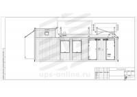 Блок-контейнер с ДГУ BIR-ЭМД-11
