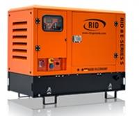 Дизель-генератор RID 8 E-series S в кожухе 3ф 8,0кВА/6,4кВт