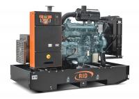 Дизель-генератор RID 130 V-series открытый 3ф 130кВА/104кВт